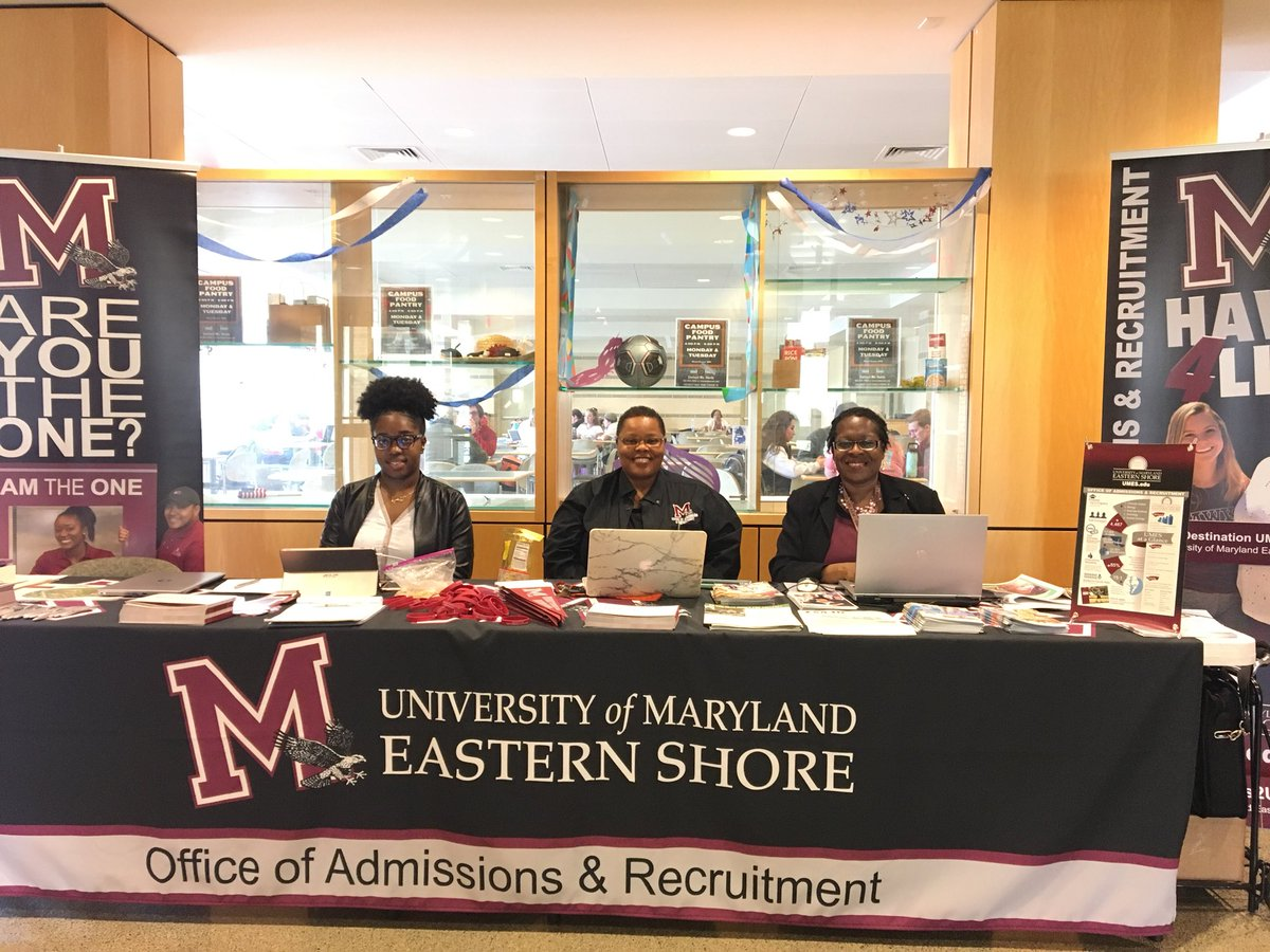 Umes Admissions On Twitter Spring Express Transfer Day At Wor Wic