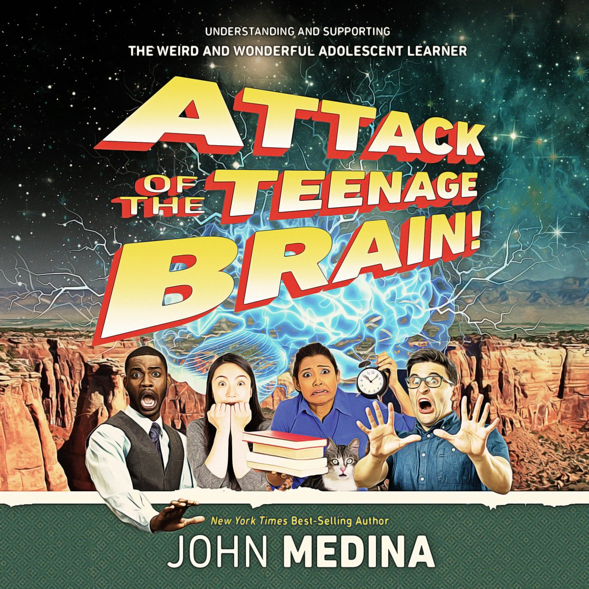 The Adolescent Brain Why Executive >> Brain Rules On Twitter New Audiobook On Librofm Attack Of The