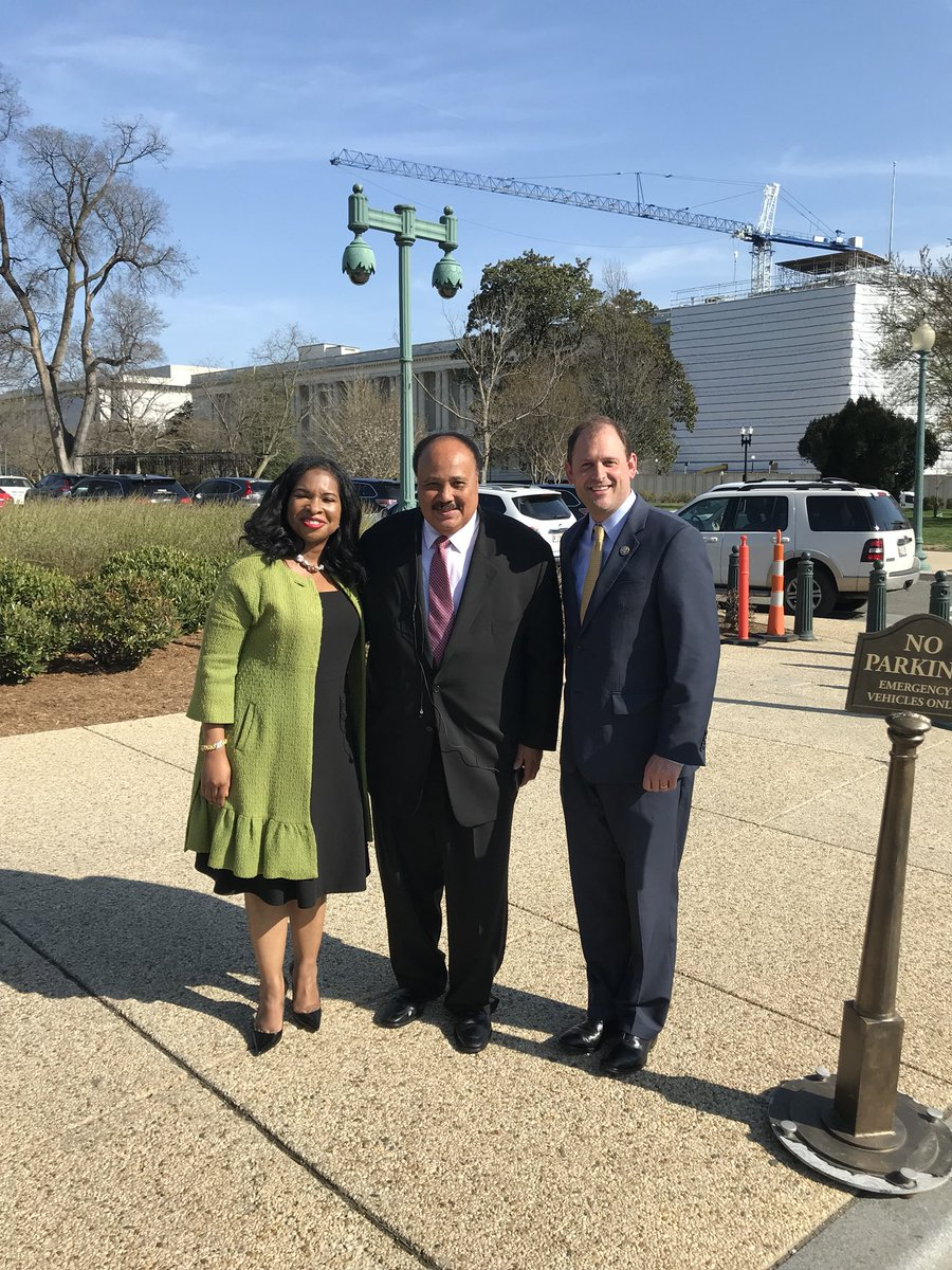 Martin Luther King Iii Arndrea Waters King