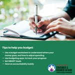 Take the first step toward financial success and create a budget today! Our tips and budget worksheet can help you get started: https://t.co/TM8kBV8PBV #FinLit #ThursdayThoughts