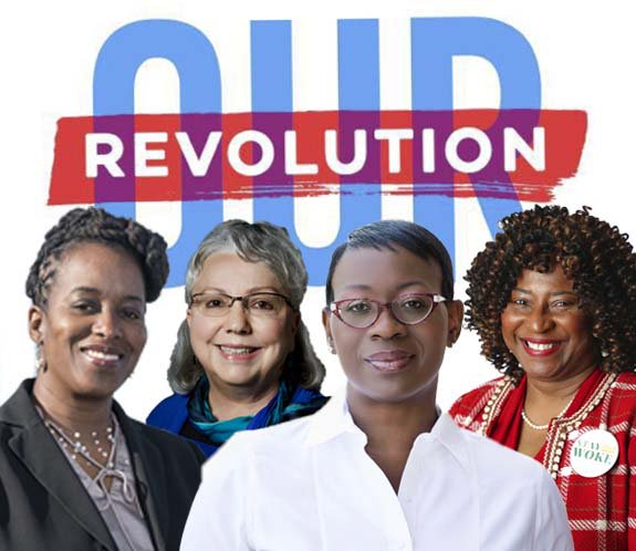 Nina Turner Presents Our Revolution's People Powered Women @ MLK Middle School | Berkeley | California | United States