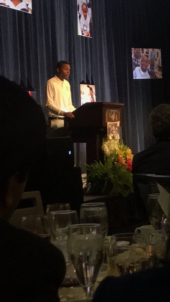 test Twitter Media - So proud of our Armani Lamin '19 giving the keynote speech at tonight's @ICSFBoston Dinner at @MarriottCopley! https://t.co/49sUhEtIo1