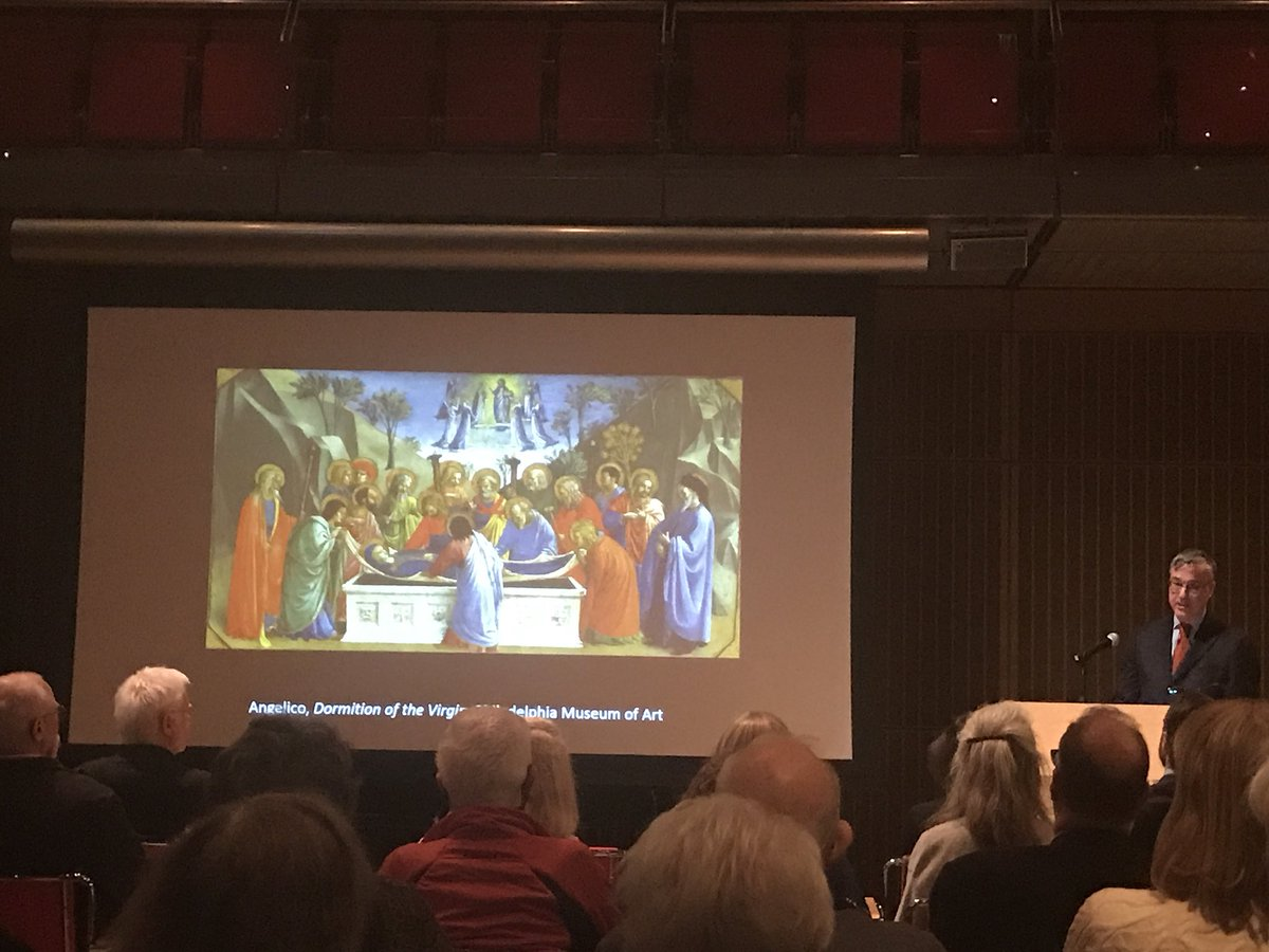 Christina Nielsen On Twitter 40 Years With Fra Angelico And Still Happy Philamuseum Emeritus Curator Carl Strehlke Has Spent His Career With A Blessed Renaissance Painter Speaking About Gardnermuseum Exhibition Fraangelico Heavenonearth