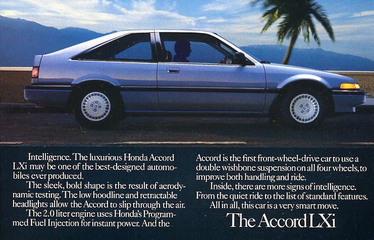 The Bonfire On Twitter The 1987 Honda Accord Hatchback