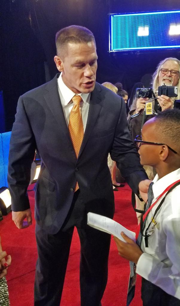 Kid Reporter Owen P. W. Osborne recently covered @WrestleMania where he interviewed @WWE Superstars who are making a difference in the lives of kids: bit.ly/2GWTTH8
