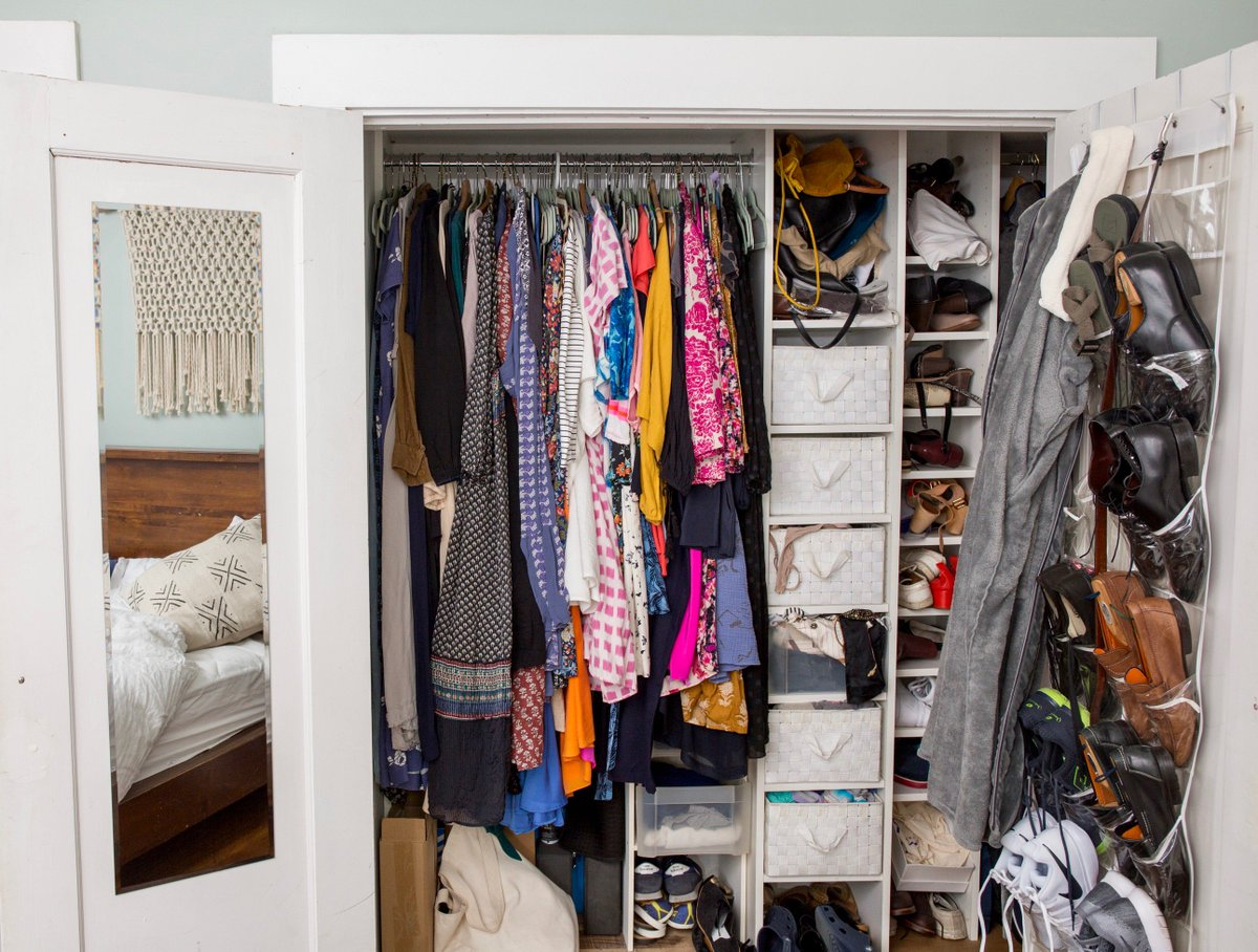 ... Co Founder Katie Hintz Zambranou2014helping Her Transform Her Cramped # Closet Into A Fully Functional #dream Space!