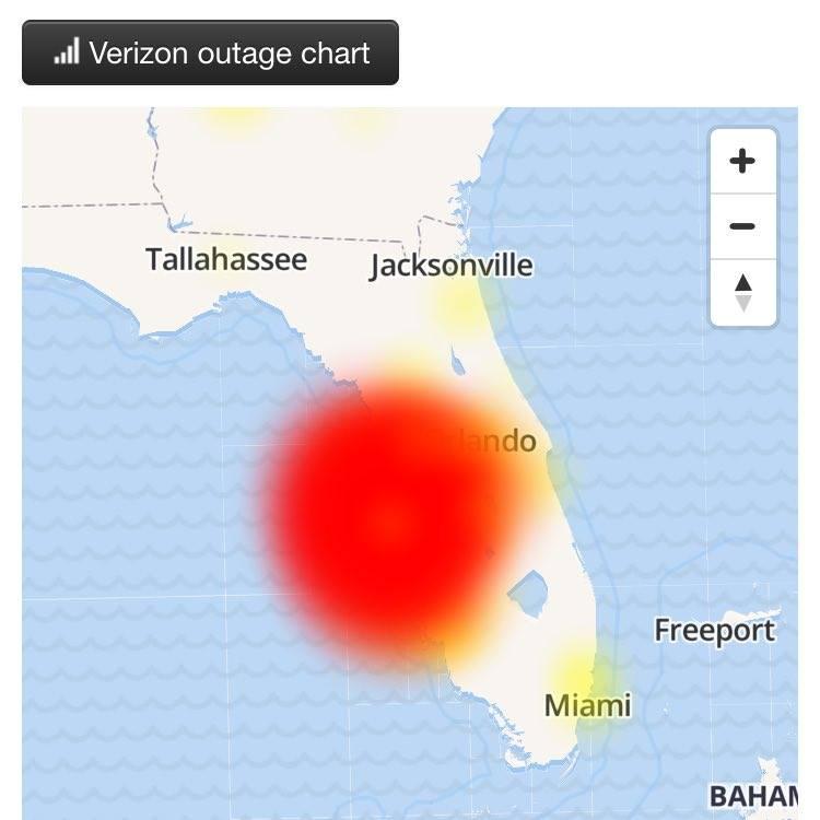 Verizon Power Outage Map.Verizonoutage Hashtag On Twitter