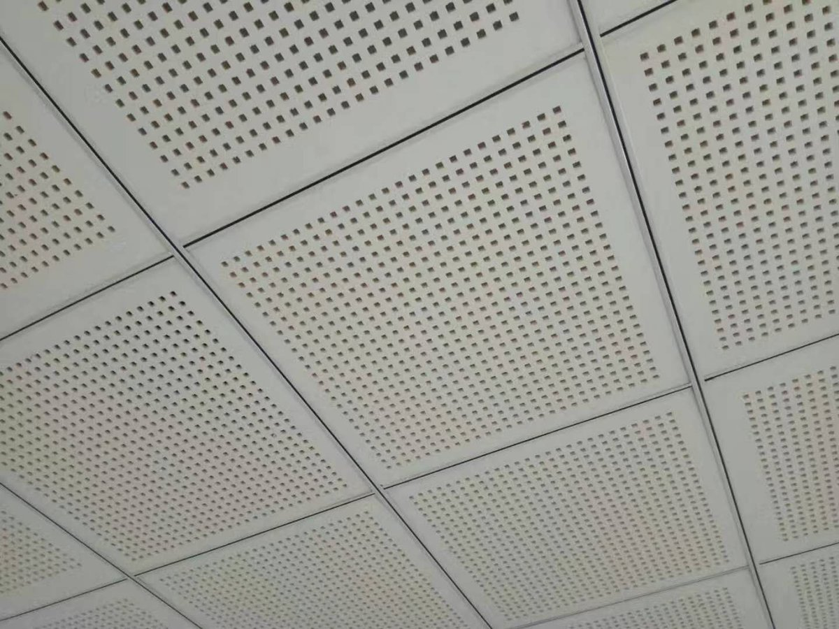 Ceiling And Drywall On Twitter Perforated Pvc Gypsum Acoustic