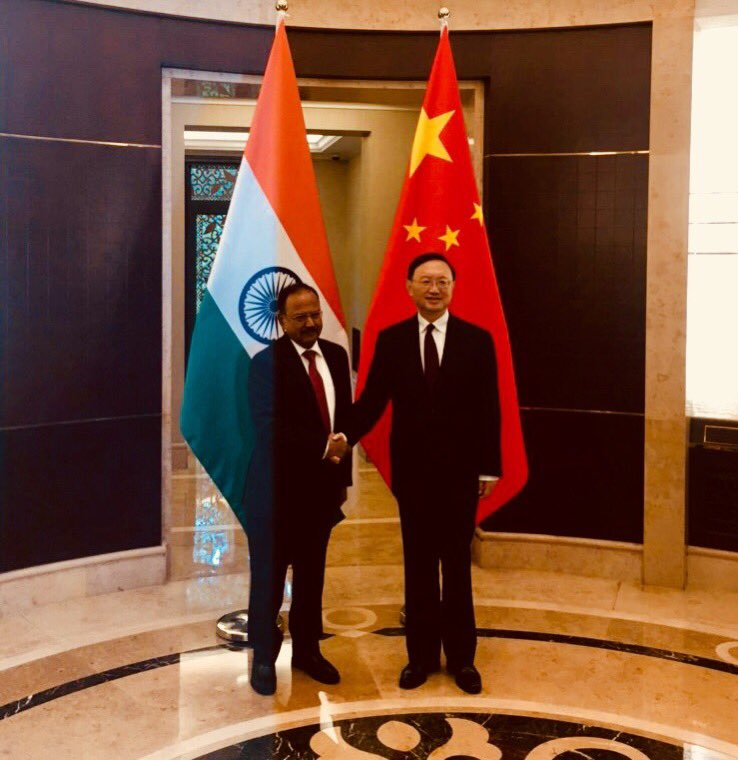 NSA Ajit Doval holds talks with China's top official
