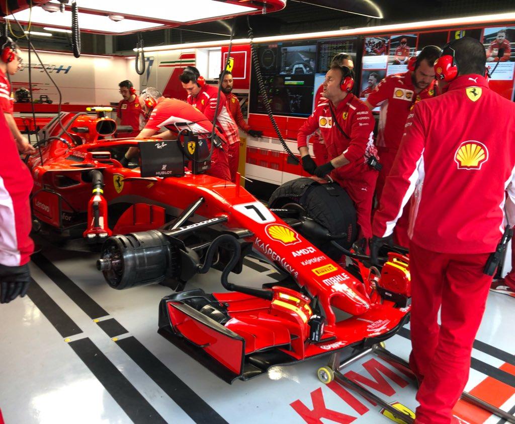 F1 2018 Chinese GP - Free Practice 1