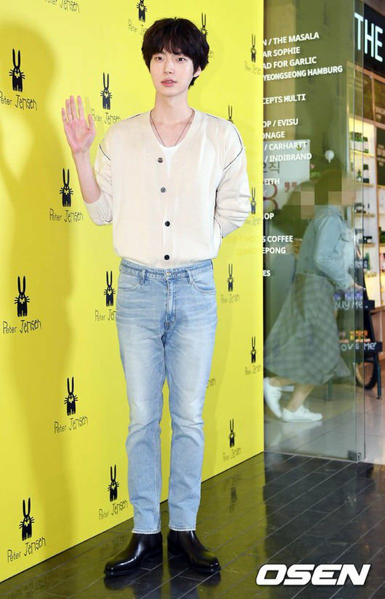 Kpopceleb On Twitter Actor Ahn Jae Hyeon Attended The Open Event