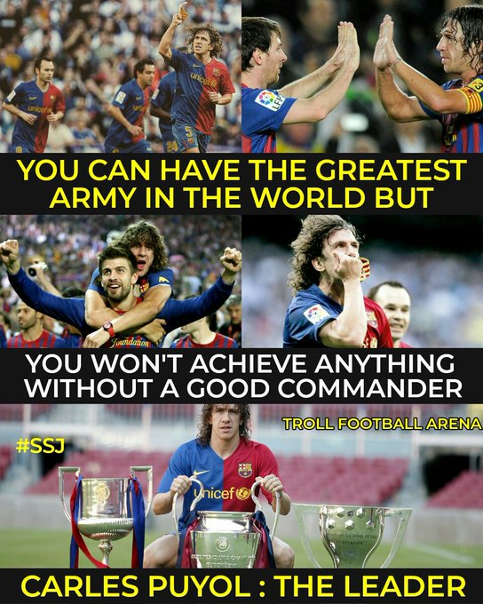 Happy birthday Carles Puyol, legend of the game