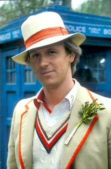 Happy birthday to the only Doctor who can pull off a decorative vegetable, Peter Davison.