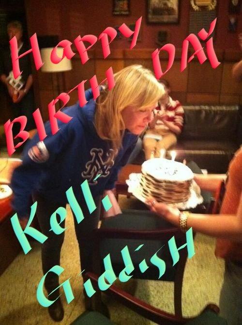 Happy Birthday, my heroine Kelli Giddish!