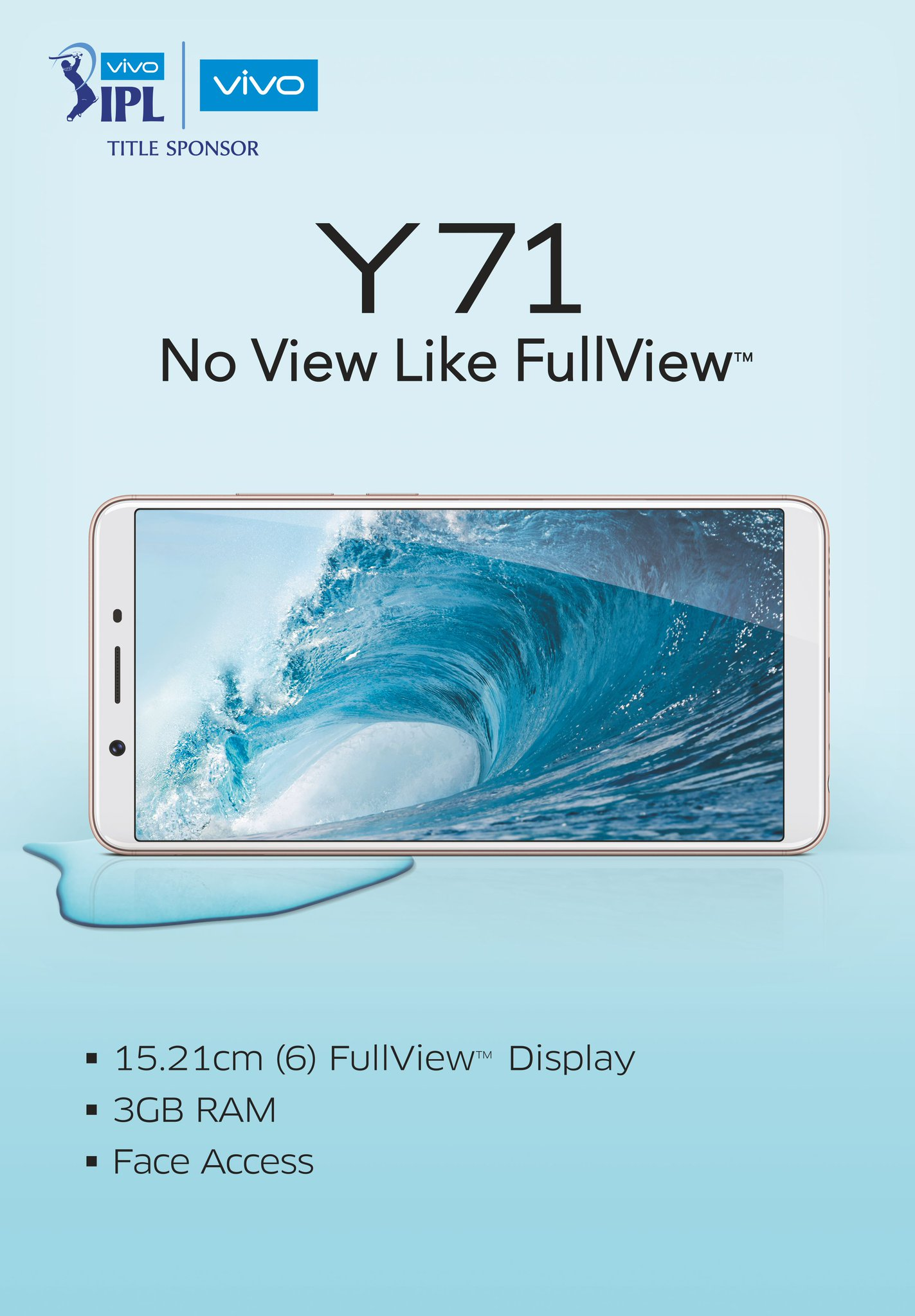 Vivo Y71 Smartphone Launched in India