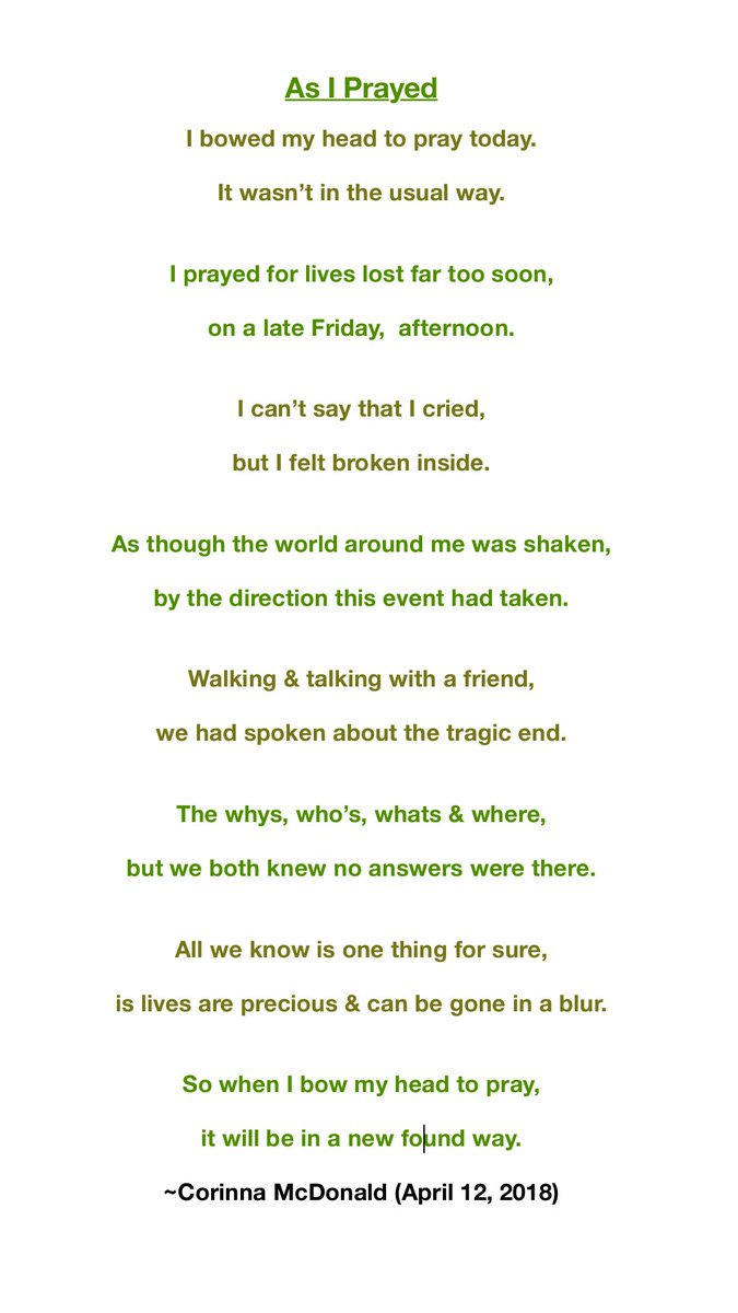 Parkland Poets On Twitter A Touching Poem By The Talented