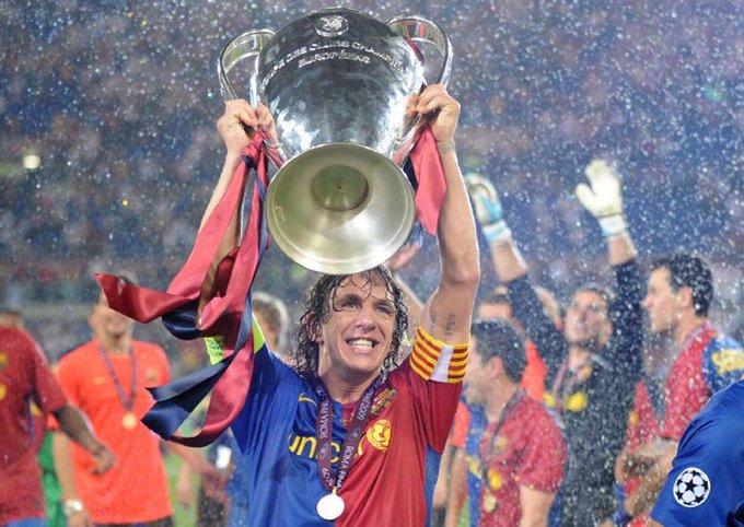 Happy 40th Birthday Carles Puyol! La Liga      Champions League   European Championship World Cup