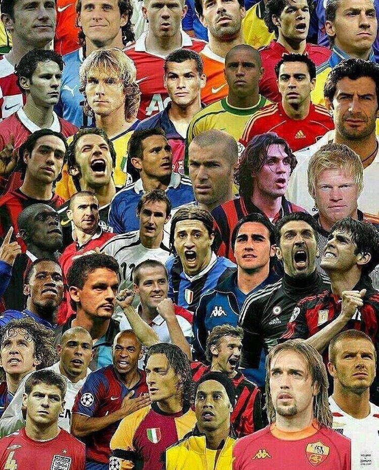 Узнай футболиста по картинке