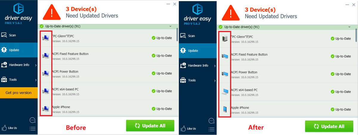 how to update drivers using driver easy free