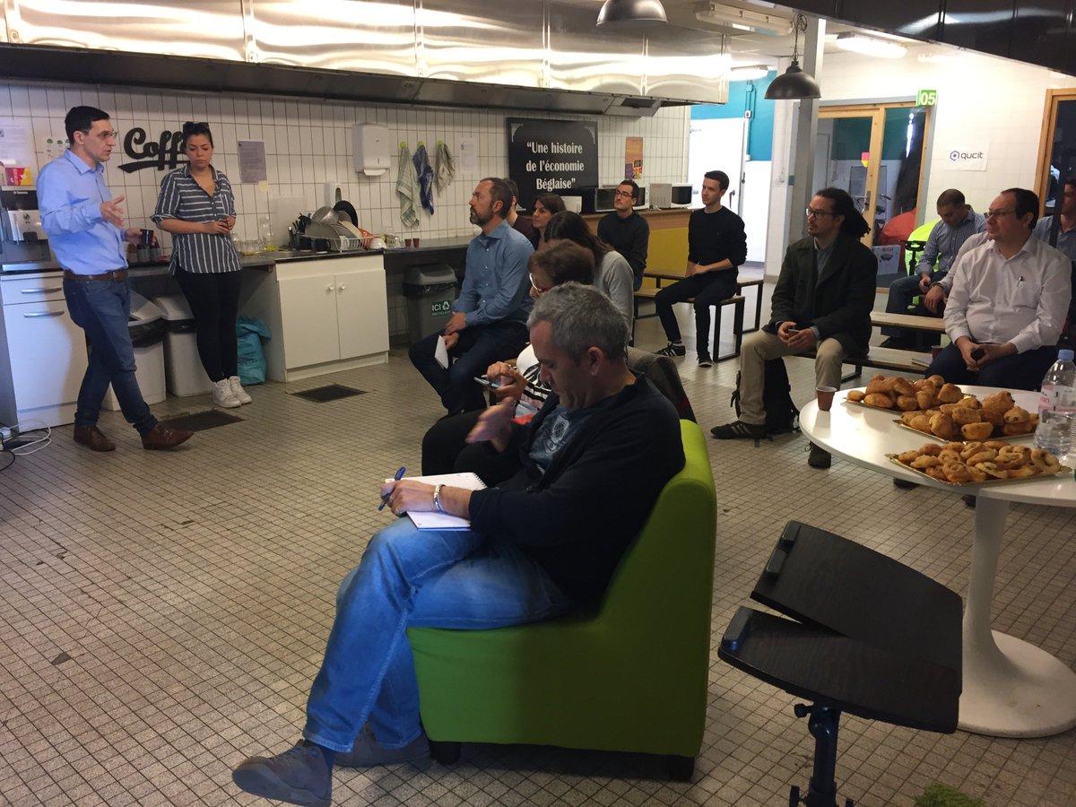 En direct de l'atelier #IoT animé par @CeciliaGouby, #Startup Ecosystem Manager chez @sigfox, sur le site @Bdx_Technowest de #NewtonBTW ! #network #data