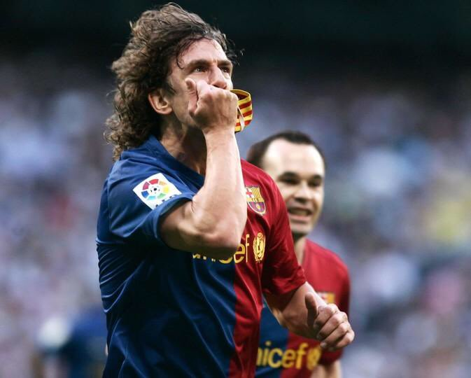 Today is the birthday of one of Barça\s greatest legends. Our captain, Carles Puyol - Happy birthday hero.