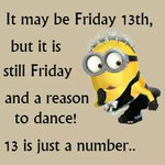 Image for the Tweet beginning: #FridayThe13th get the #FridayFeeling and