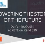 Heading to this year's @rbtexpo? Don't miss @qudini on stand E30 with @SkratchAV where we will be showing how we help retailers to power the stores of the future. To book a meeting with the team, click on the link - https://t.co/ipk4hdJtYS #retail #tech