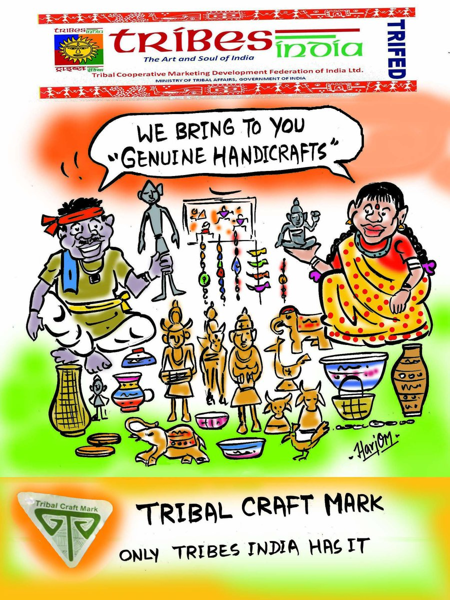 Tribes India On Twitter Bringing To You The Genuine Handicrafts