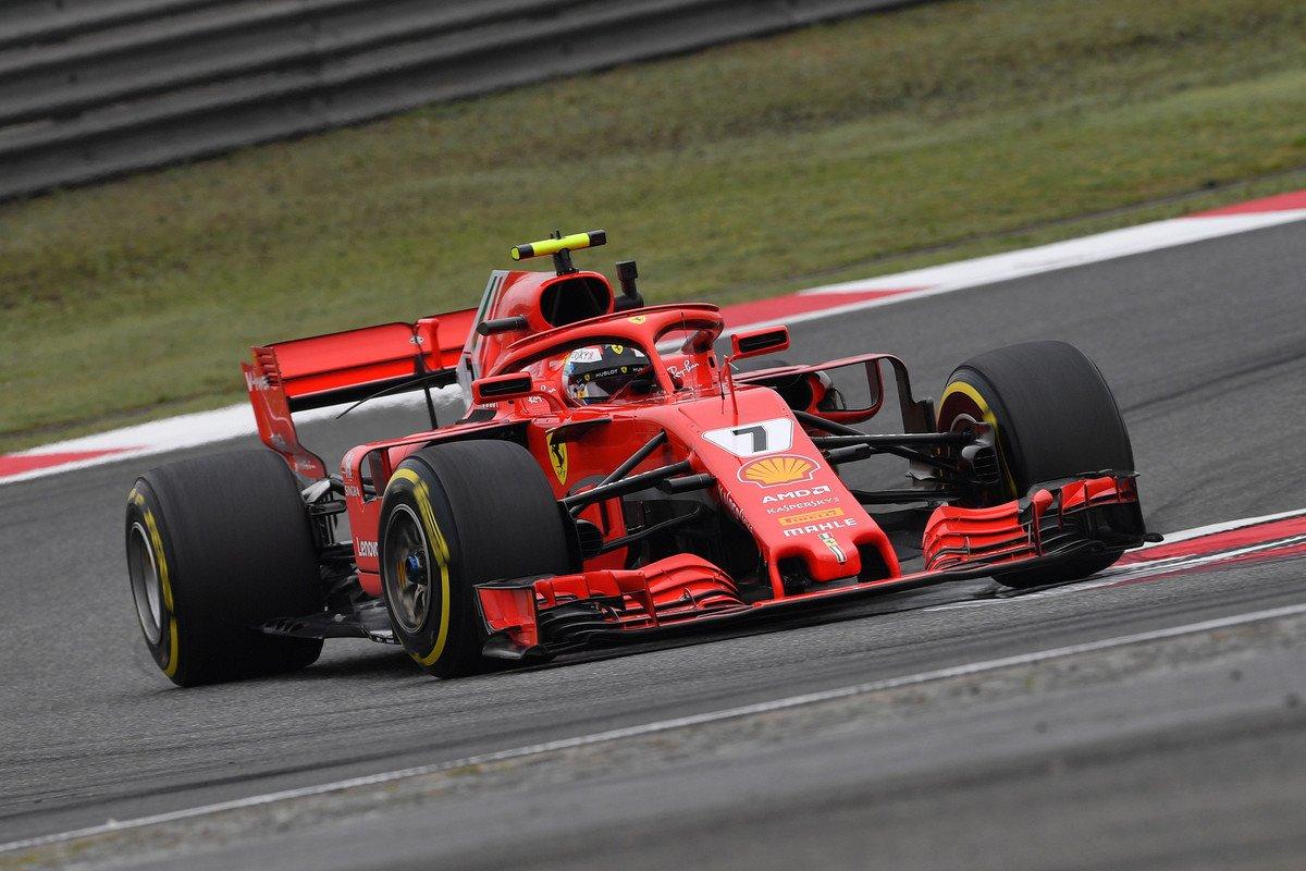 F1 2018 Chinese GP - Free Practice 2