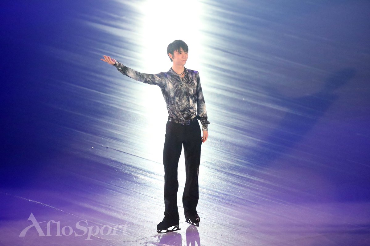 continues with wings day1 Yuzuru Hanyu