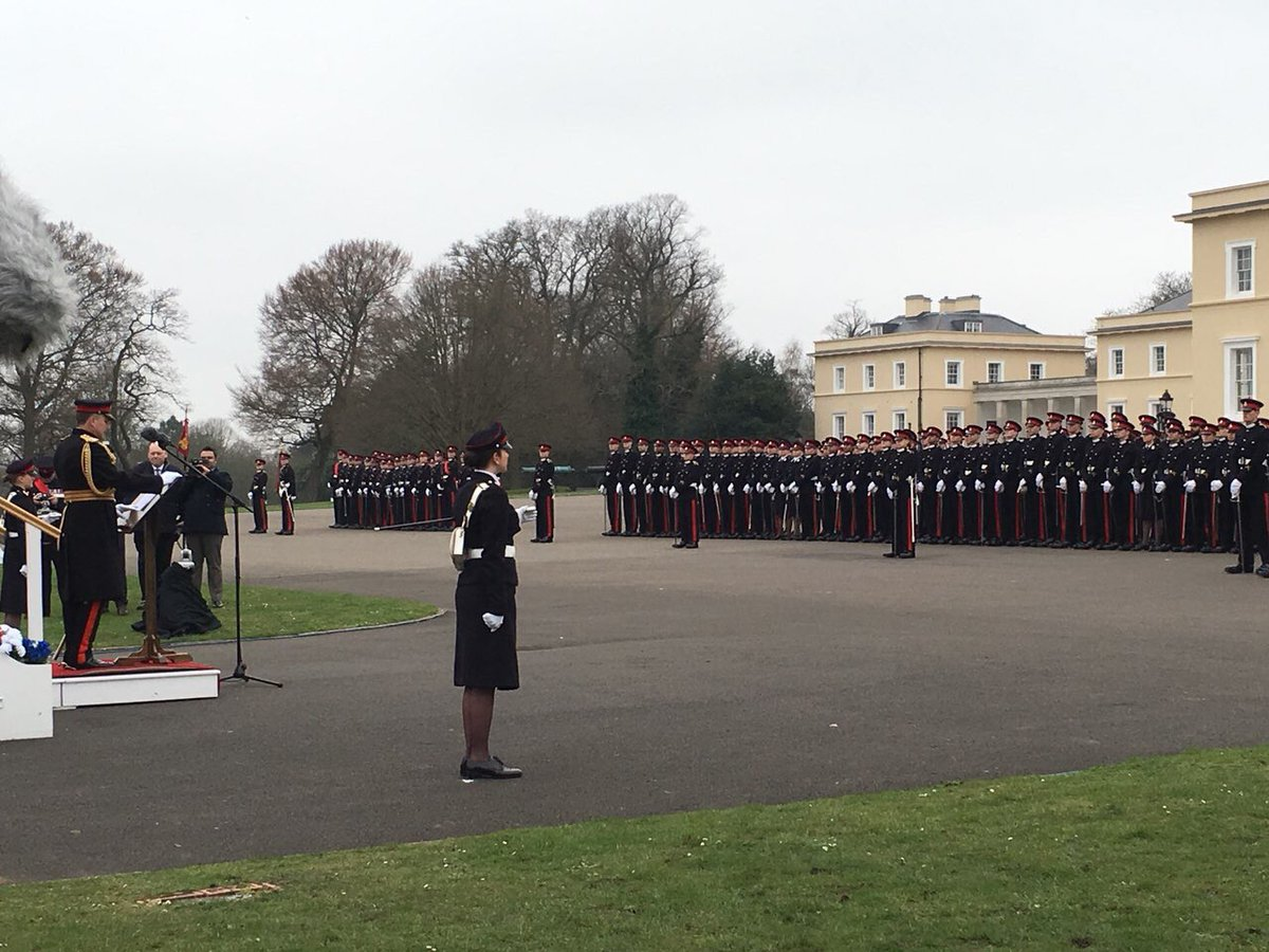 @ArmyCGS addressing the class of 2018 @RMASandhurst . Two #Afghan #cadets are among the graduates 🎓. Wish them all the best in serving our #people & #country #Afghanistan @AmbassadorJawad @NSAAtmar @tamimasey @MoDAfghanistan @waisbarmak @hnaderi0093