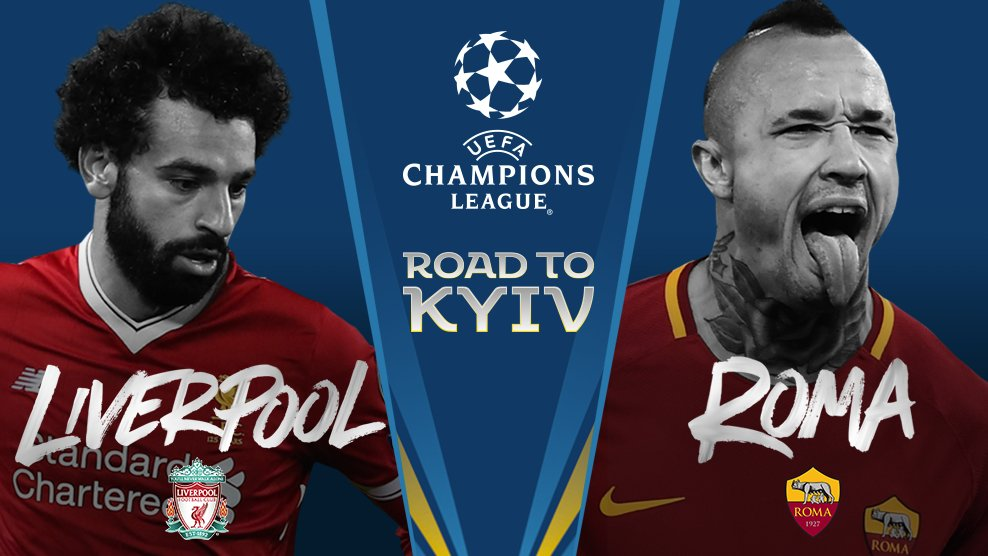 Semi-final 2: Liverpool v Roma.   #UCLdraw