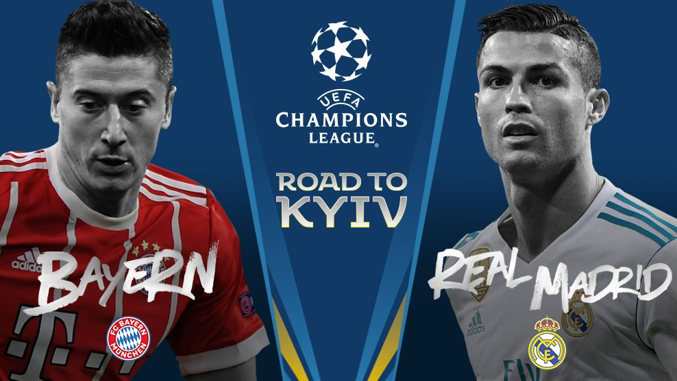 Semi-final 1:  Bayern v Real Madrid.  #UCLdraw