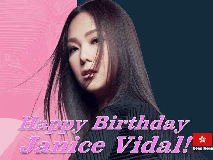 Happy Birthday #JaniceVidal! ❤️🇭🇰🎶🎤🎂🎉🎁🎈💐🌟💫🎇