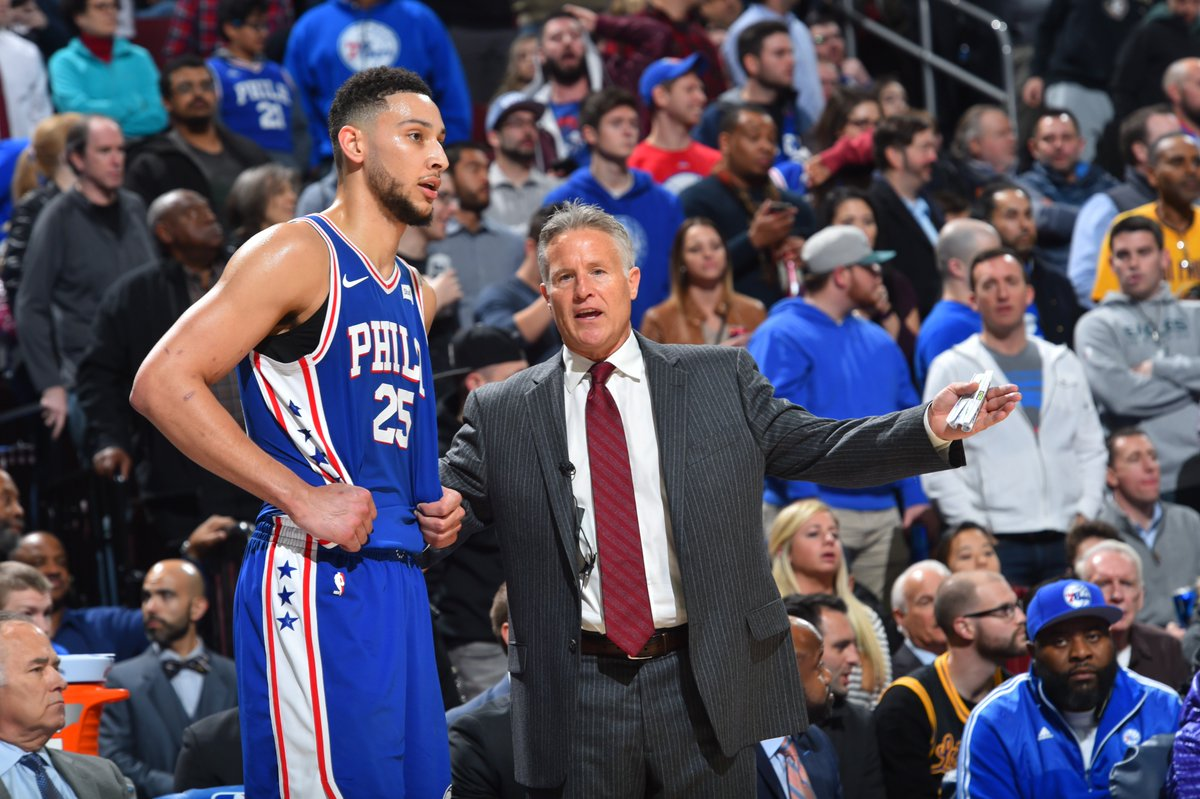 Yesterday, honors rolled in for two of the most important people responsible for the Sixers turnaround, and late-season surge.  Write ups on both: Brett Brown, East Coach of Month on.nba.com/2JIvJly Ben Simmons, East Rookie of Month on.nba.com/2vaQ9QZ #PhilaUnite