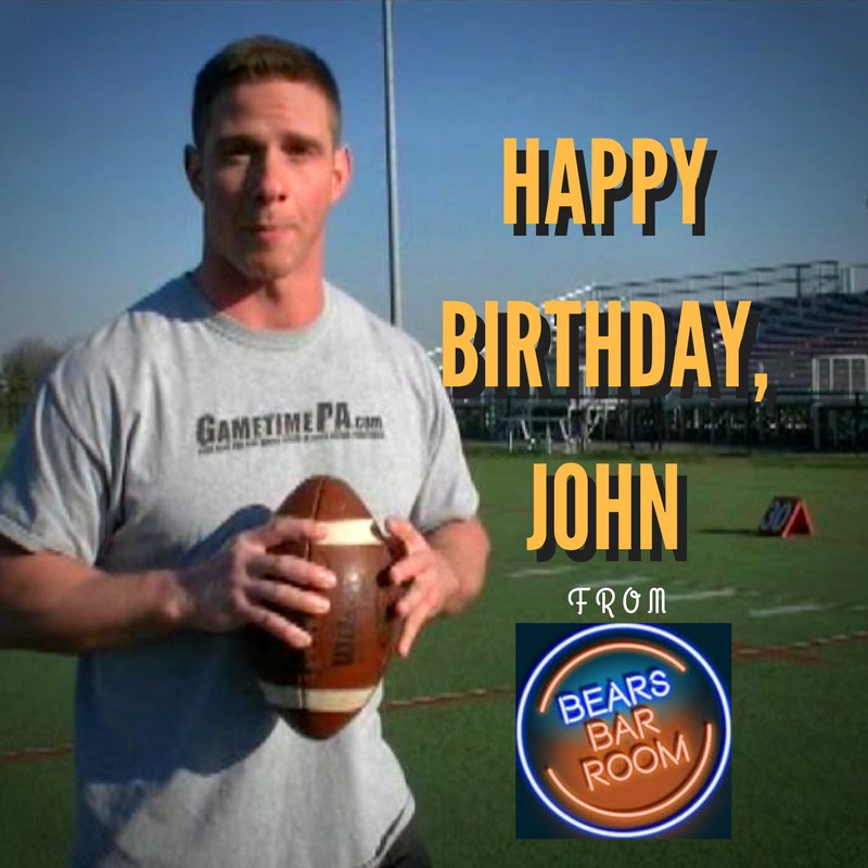 Happy Birthday to John, @JDBuffone, hoping you have a great day (don't walk under ladders!) and weekend!