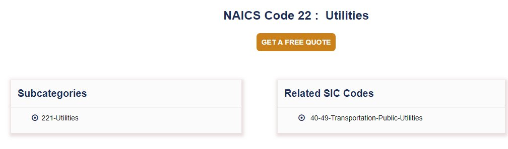 naics code look up