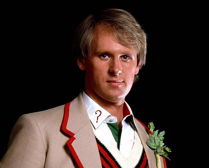 Happy Birthday to Peter Davison.....