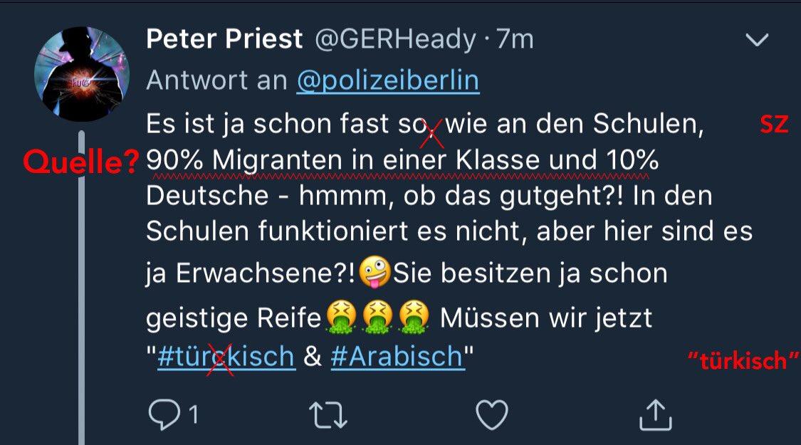 Twitter mimon baraka polizei berlin Offener Brief