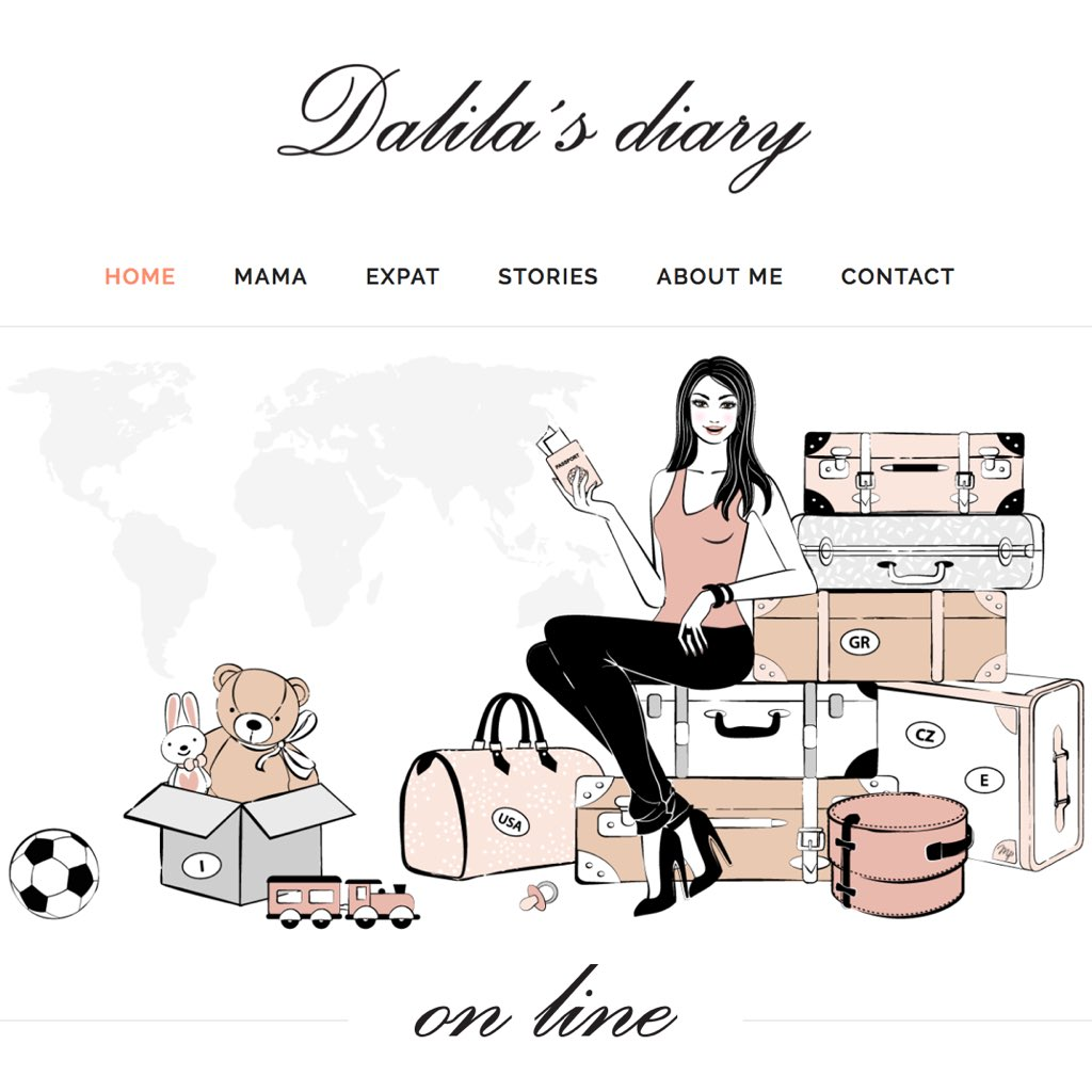 """Dalila's Diary On Twitter: """"My Blog Is Online! 👉🏻 Https"""
