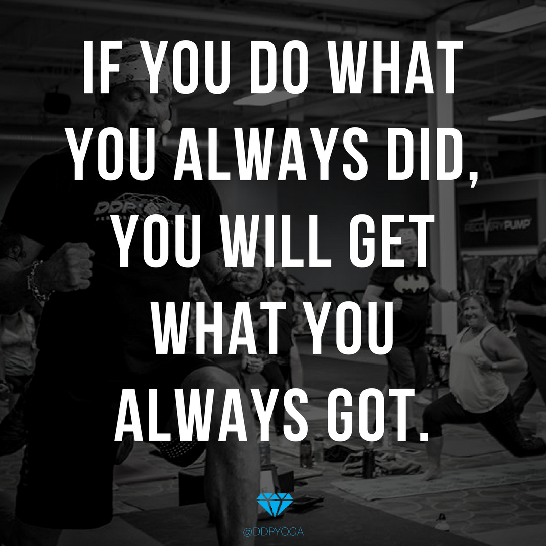 Time to do something different. You can do this!