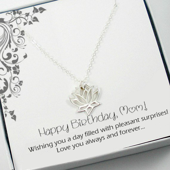 Present Mom Birthday Gift Gifts For Mother In Law Tuppu D3b7af05 Necklaces Jewelry
