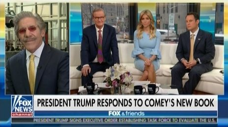 Fox & Friends host asks if bombing Syria 'would be a bigger story than Comey's book' https://t.co/VYTo6lSlka https://t.co/1Xo6PV92uD