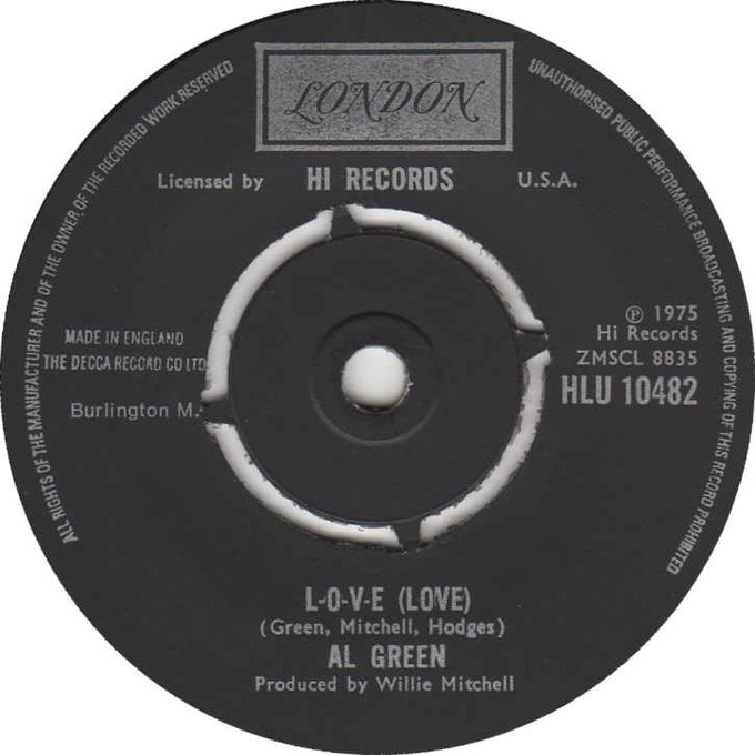 It was great to play L.O.V.E.  this morning! Happy Birthday to The Reverend Al Green!
