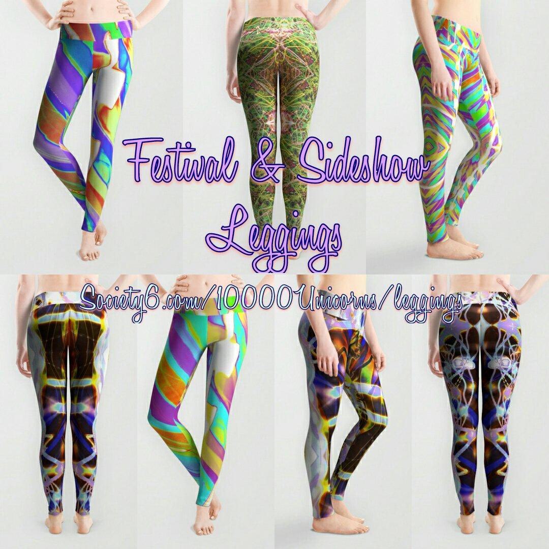 07f4b7a4020c97 Shop my #festivalready light painted #leggings on my @Society6: 🐙https: