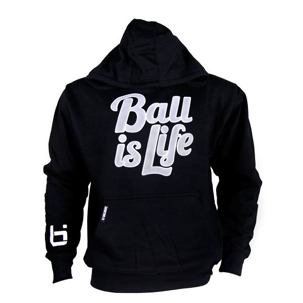 The #Ballislife Classic Hoodie ($40) available in red or black! Shop now: bit.ly/bil-hoods