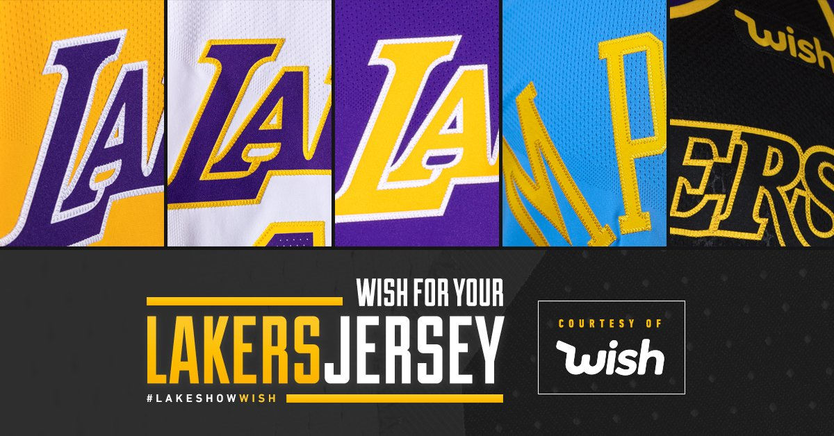 finest selection 66f07 17b1e Los Angeles Lakers on Twitter:
