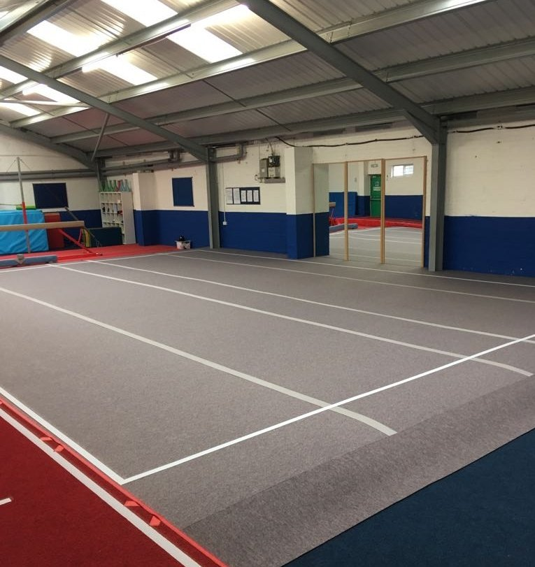 Continental Sports On Twitter Special Size FIG Approved Artistic Gymnastics Sprung Floor Installed By Yet Another Of Our Installation Teams Today