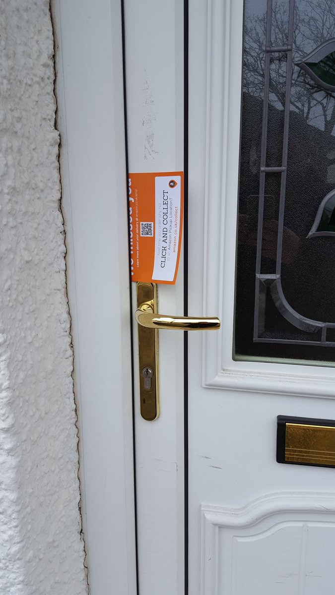 Last time the card was left here my garden was broken into. Guess itu0027s time to cancel my account. If only your drivers could post the card through the ... & Paul Collins (@PaulCollinsFoto) | Twitter