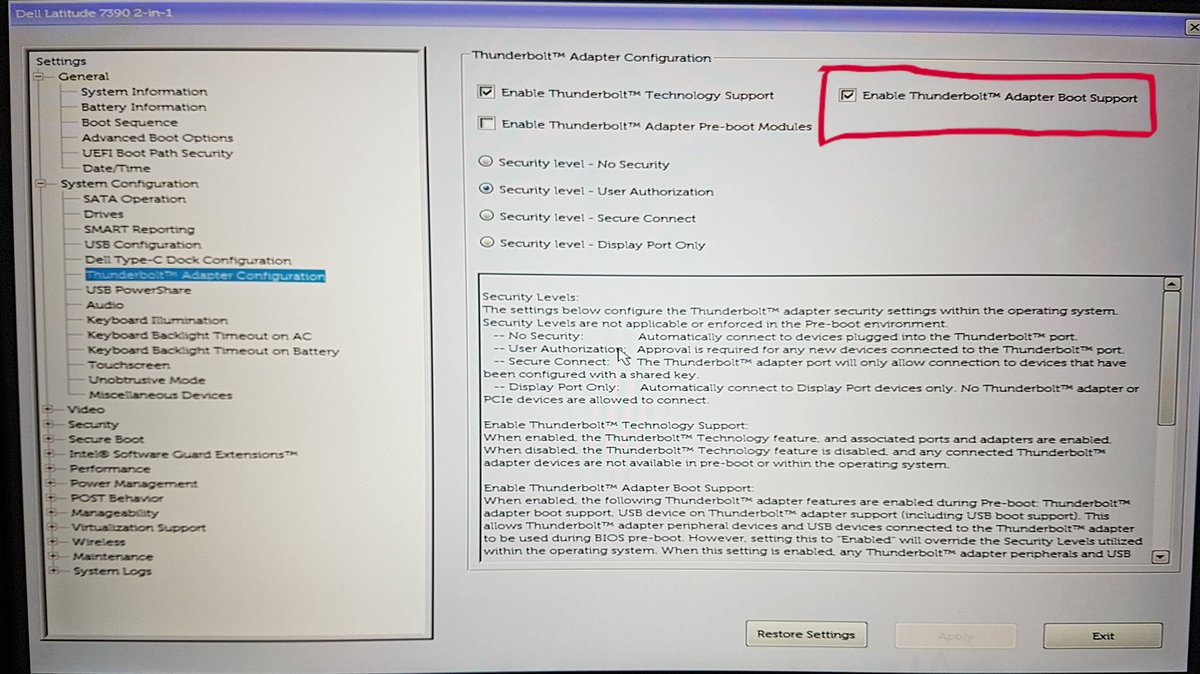 enable usb boot in bios dell